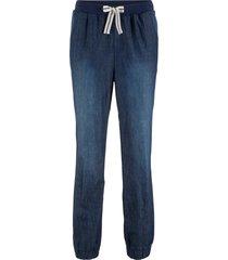 pantaloni comfort con laccetto a righe (nero) - bpc bonprix collection