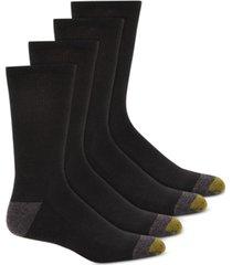 gold toe men's 4-pk. circuit athletic crew socks