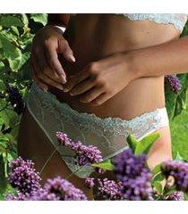 ambra lingerie slips platinum fashion string blauw 1330f