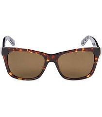 53mm jenae square sunglasses