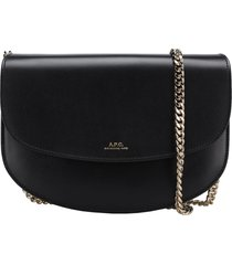 a.p.c. genève clutch on chain