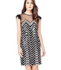 sukienka z nadrukiem geometrycznym