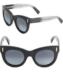 48mm ombre rounded sunglasses