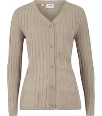 cardigan a coste (beige) - bpc bonprix collection