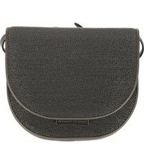 brunello cucinelli flap shoulder bag