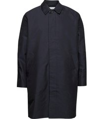 torrex coat 13105 dunne lange jas blauw samsøe samsøe