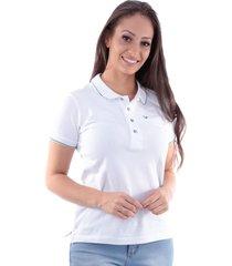 camisa polo cp0720 regular traymon branca - kanui