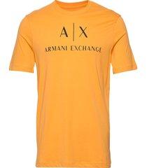 man jersey t-shirt t-shirts short-sleeved gul armani exchange
