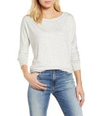 women's gibson x international women's day anna wide neck dolman sleeve sweatshirt, size xx-large - grey