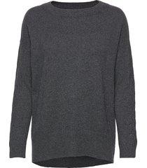 all set sweater gebreide trui grijs odd molly