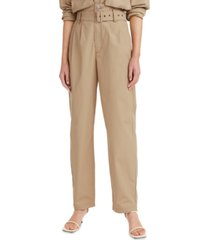 levi's high-waisted tapered pants