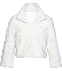 giacca corta in pelliccia sintetica (bianco) - bpc selection premium