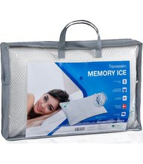 travesseiro memory ice viscoelástico theva