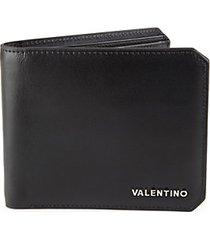 francesco sauvage bifold leather wallet