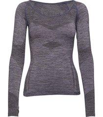hmlnyree seamless t-shirts l/s base layer tops lila hummel