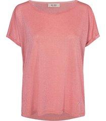 mos mosh kay t-shirt koraal roze