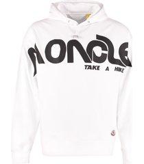 moncler cotton hoodie