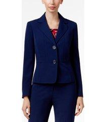 kasper two-button blazer