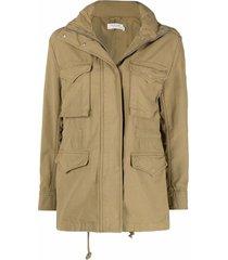 rag & bone m65 field cotton jacket - green