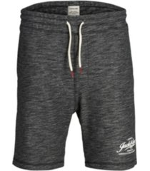 jack & jones men's melange style sweat shorts