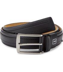pga tour men's all in one bonded leather belt - black - size 38