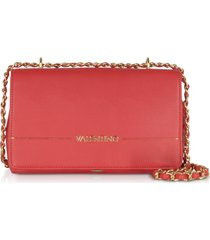 valentino by mario valentino designer handbags, jingle signature eco leather clutch