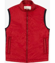 sleeveless down jacket red 54