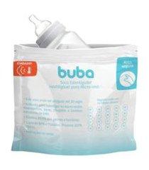saco esterilizador reutilizável para micro-ondas buba baby