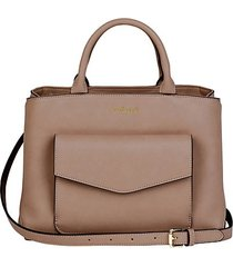 lost spirit faux leather tote