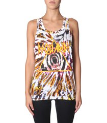 dsquared2 tie and dye print top
