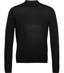 tern gebreide trui met ronde kraag zwart tiger of sweden