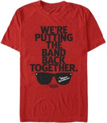 the blues brothers men's band back together short sleeve t-shirt