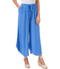 1.state drawstring wide leg pants, size x-large in iris blue at nordstrom