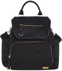 bolsa maternidade skip hop - coleção chelsea backpack black