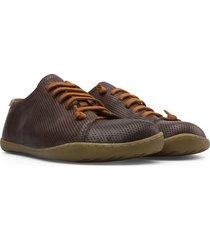men's camper peu cami low top sneaker, size 8us - brown