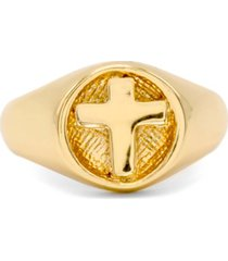 robert lee morris soho cross signet ring