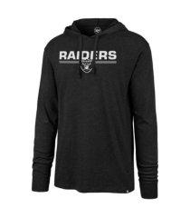 '47 brand men's las vegas raiders end line club hoodie