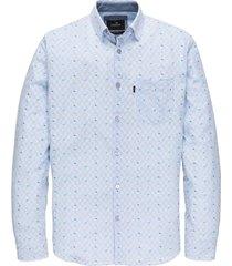 vanguard overhemd lichtblauw met streep vsi202239/5036