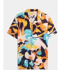 camisa resort maxi