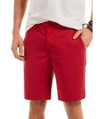 bermuda garment dyed rojo ferouch