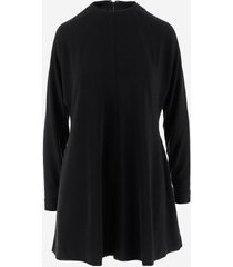 dsquared2 designer dresses & jumpsuits, viscose fared women's dress