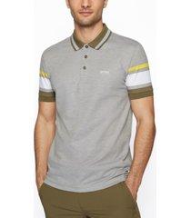 boss men's pima-cotton polo shirt