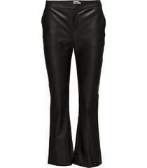 cornelia trousers leather leggings/broek zwart twist & tango
