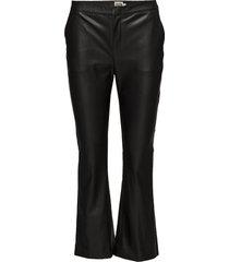 cornelia trousers leather leggings/broek zwart twist & tango
