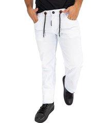 jean hombre blanco ref: fashion