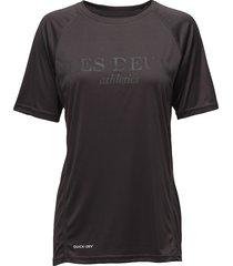 les deux logo t-shirt t-shirts & tops short-sleeved grå les deux