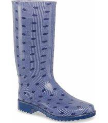 botas de lluvia cyrtis azul para mujer croydon