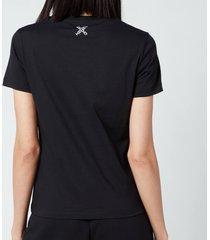 kenzo women's sport classic t-shirt - black - l
