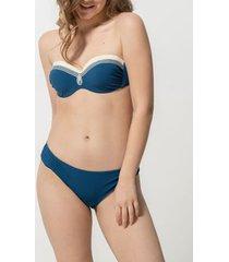 bikini luna athena voorgevormde bandeau zwempak top