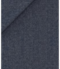 giacca da uomo su misura, reda, blu notte spigata biella, autunno inverno | lanieri